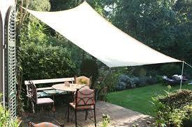 voile d'ombrage sur mesure pour votre terrasse ou votre jardin